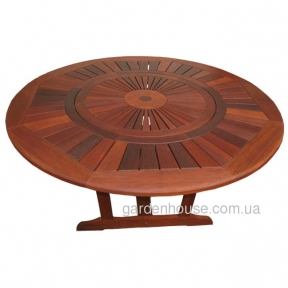Стол Flora Round из мербау Ø 155 см