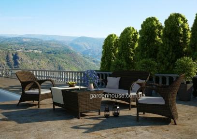 Комплект мебели для отдыха Firienze Royal из искусственного ротанга