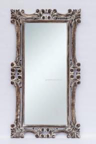 Зеркало Ajur в резной раме из натурального дерева, прованс 145х80 см