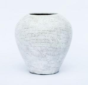 Ваза керамическая белая (30 см, 40 см, 50 см)