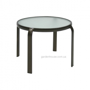 Кофейный столик со стеклом Montreal 52х43 см