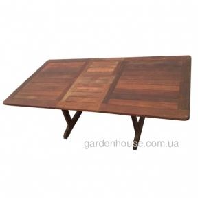 Раскладной обеденный стол Regent из мербау 160/210 см