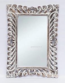 Зеркало Ajur в резной деревянной раме, прованс 80х60 см