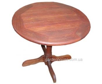 Барный стол Pub из мербау Ø 90 см