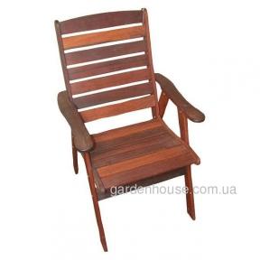 Деревянное кресло Amanda из мербау