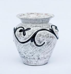 Керамическая ваза с лепкой Dynos (50 см, 40 см, 30 см)
