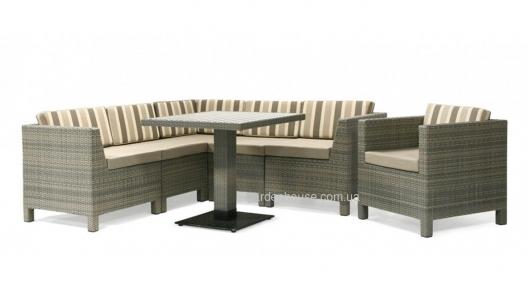 Модульный диванный набор Samantha из искусственного ротанга