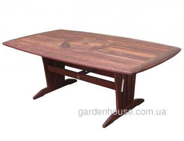 Обеденный стол Blomington из мербау 200 см