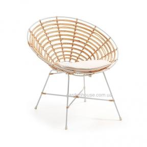 Кресло Kartell из натурального ротанга