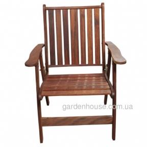 Кресло складное Palm Beach Folding из мербау