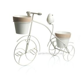 Декоративный велосипед-кашпо 45,8х17х36,8 см