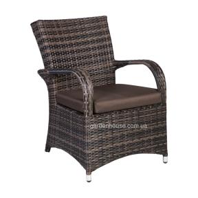 Садовое кресло Викер из искусственного ротанга