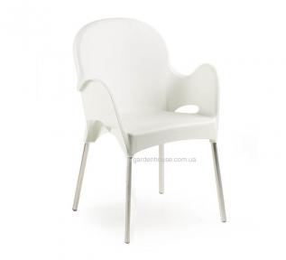 Пластиковый стул с подлокотниками Atena
