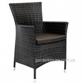 Кресло садовое Wicker из искусственного ротанга в ассортименте