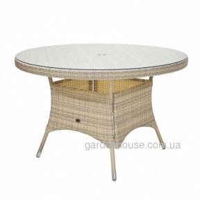 Стол обеденный Wicker из искусственного ротанга в ассортименте 120x76 см