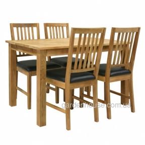Столовый комплект Gloucester из массива дуба и арткожи