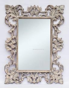 Зеркало Avila, тик 120х90 см (прованс, античный коричневый)