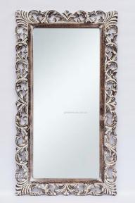 Зеркало Ajur в раме из натурального дерева, прованс 145х80 см