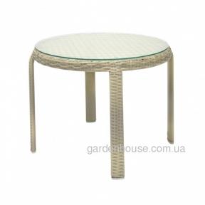 Кофейный столик Wicker из искусственного ротанга 52x43 см