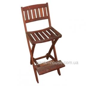 Барный стул из мербау