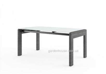 Обеденный стол Prato Royal из искусственного ротанга