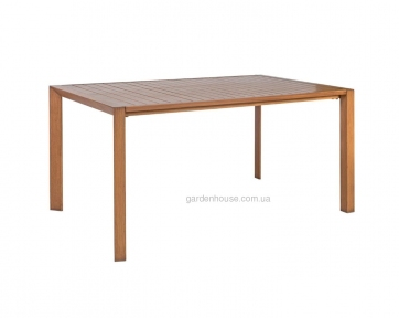 Обеденный садовый стол Sailor из алюминия 160х90 см