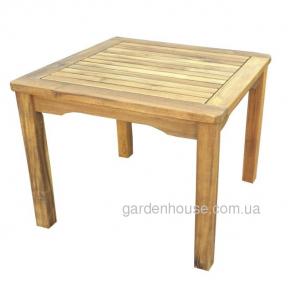 Столик кофейный Style из массива акации, 50х50 см
