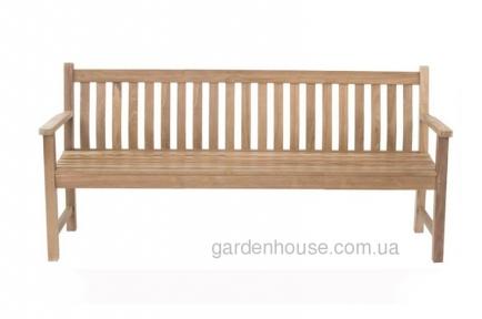 Садовая скамейка Turin из тикового дерева, 4-х местная
