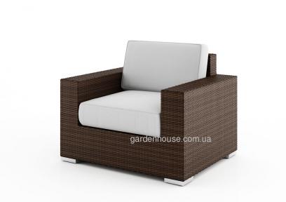 Кресло садовое Milano Modern из искусственного ротанга