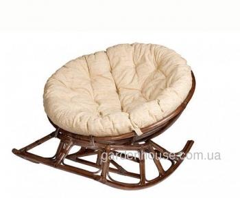 Кресло-качалка Papasan из натурального ротанга
