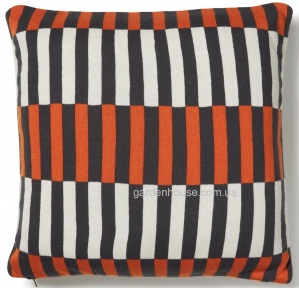 Подушка декоративная Annie из трикотажа 45x45 см, цветная