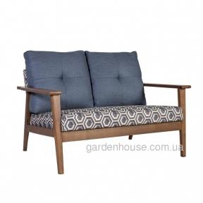 Двухместный мягкий диван Ambient из массива гевеи