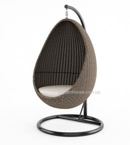 Кресло подвесное Kokon Royal из техноротанга
