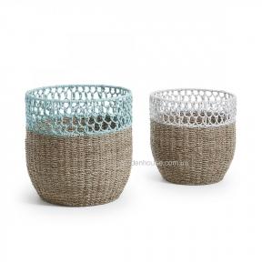 Набор корзин Maja из натурального волокна