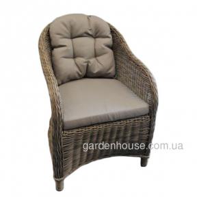 Садовое кресло Amy из искусственного ротанга, бежевый