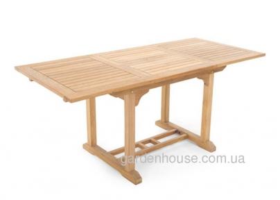 Стол раскладной прямоугольный Modena из тикового дерева