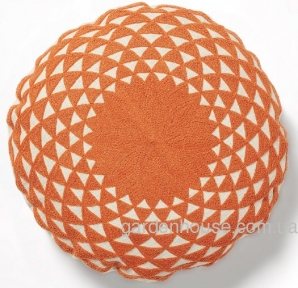 Круглая декоративная подушка Zappa 45x45 см в ассортименте
