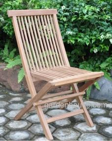 Складной тиковый стул Montana без подлокотников