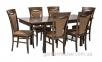 Обеденный комплект мебели Mix & Match из каучукового дерева: стол и 6 стульев