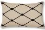 Прямоугольная декоративная подушка Melrose с вышивкой 30x50 см в ассортименте