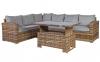 Набор садовой мебели Zurich из искусственного ротанга