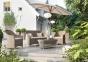 Садовый комплект мебели для отдыха Leonardo Royal из искусственного ротанга