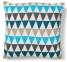 Интерьерная квадратная подушка Adel 45x45 см, многоцветная