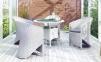 Столовый комплект садовой мебели Filip & Dolce Vita Royal из искусственного ротанга