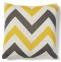 Декоративная квадратная подушка Agnes  45x45 см, цветная