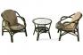 Балконный набор мебели из натурального ротанга